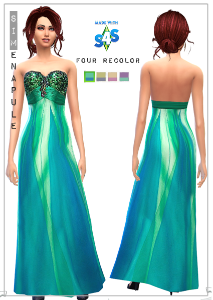 sims 4 formal dress
